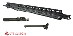 "Davidson Defense ""Experiment"" AR-15 Upper Receiver 20"" Ultra-Match .224 Valkyrie Stainless H-BAR 1-7T Barrel 19"" M-Lok Handguard (Assembled or Unassembled)"
