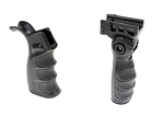 AR-15 Ultra Storage Compartment Upgrade Grip Set With 3 Position Adjustable Foregrip