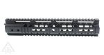 Omega Mfg. AR-15 Slim Free Float Quad Rail 12
