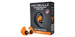 Decibullz Custom Molded Earplugs - Orange