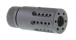 Guntec AR-15 1/2x36 Micro Slip Over Barrel Muzzle Brake