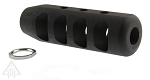 Recoil Technologies 12.7x42 Oversized Muzzle Brake 49/64x20 (Jam Nut Included)