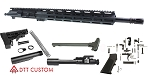 "DTT Customs Elite Series ""Madison"" AR-15 Featuring An Aero Precision Upper Receiver 16"" Wilson Arms 5.56 NATO 1-9T 4150 CMV Barrel 13.5"" M-Lok Handguard (Assembled or Unassembled)"