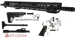 "DTT Customs ""Mountain Hound"" AR-15 Featuring Aero Precision Upper Receiver 16"" .450 Bushmaster 1-24T 4150 CMV Heavy Barrel 15"" KeyMod Handguard (Assembled or Unassembled)"