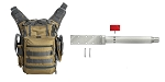 Delta Deals Real Avid AR-15 Lug-Lok Upper Vise Block + VISM First Responders Utility Bag - Tan w/Urban Gray