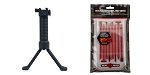Delta Deals Real Avid Smart Brushes - 8 Brush Combo + Lakota Ops Grip POD Tactical Foregrip & Bipod (Heavy Duty Model)
