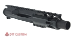"Davidson Defense ""Ross"" AR-15 Pistol Upper Receiver 4"" KAK Industries 9MM QPQ Nitride 1-10T Barrel 4"" M-Lok Handguard (Assembled or Unassembled)"