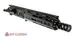 "Davidson Defense ""Squirrel"" AR-15 Pistol Upper Receiver 7.5"" 5.56 NATO QPQ Nitride 1-7T Barrel 7"" KeyMod Handguard (Assembled or Unassembled)"