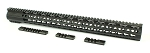 AR15 Keymod Handguard Ultra Slim Patented Barrel Nut 20