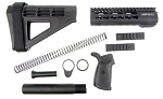 AR-15 Premium Pistol Furniture Kit - Sig Sauer Pistol Brace Trinity Force Handguard and Pistol Grip