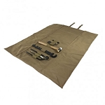 AR15 M4  Gunsmithing Tool Kit With Roll-Up Mat Tan