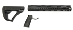 AR-15 Daniel Defense Black Mil-Spec Collapsible Stock & Davidson Defense 15