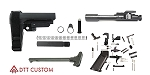 Delta Deals AR-15 Pistol Finish Your Build Kit SB Tactical SBA3