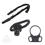 Omega Manufacturing Sling With QD Swivel And Adapter End Plate Combo
