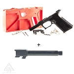 Delta Deals Polymer 80 Glock 17 Full Size 9mm + Nitrided Threaded 9mm Barrel