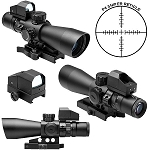 Mark III Tactical P4 Sniper 3-9X42/Scope Adaptor Mount/Red Dot Combo Package