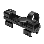 NcStar Reflex Red Dot Sight Red and Green 5 MOA Dot with Interchangeable Weaver and 3/8