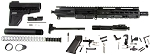 Davidson Defense AR15 5.56- .223 Complete Pistol Kit, Everything But the Lower Receiver!
