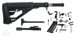 Adaptive Tactical Stock AR-15 Finish Your Rifle Kit - Pick Stock Color - 5.56/.223/.300 BLKOUT