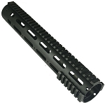 AR-15 Smooth Pro 12 inch Free Float Tube Handguard With Rails & New Barrel Nut