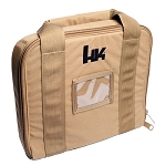 H&K Soft TACTICAL PISTOL CASE Heckler & Koch - Coyote Brown --