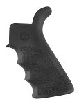 Hogue AR-15/M-16 Rubber Grip Beavertail with Finger Grooves Black