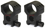 Vector Optics Tactical 30mm Scope Mount Rings (Set of 2) Extra High SCTM-18