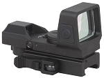 Vector Optics Sable 1x25x34 Tactical 4 Reticles Green Red Dot Sight Quick Release QD Weaver Mount