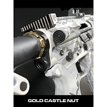 Fortis Lightweight Enhanced AR15 End Plate-K1 System (Gold)