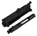 Davidson Defense AR-15 Left Handed Upper Starter Kit Billet Receiver W/ Premium Left Ejecting BCG
