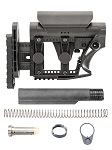 LUTH-AR Ar-15 MBA-3 Carbine Buttstock & Mil-Spec Buffer Tube Kit Assembly