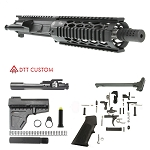 "Davidson Defense ""Mouse Rat"" AR-15 Pistol Upper Receiver 7.5"" .223 Wylde Stainless 1-7T Barrel 7"" Quad Rail Handguard (Assembled or Unassembled)"