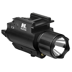 Nc/star Tactical Red Laser & 3W 200 Lumen LED Flashlight with Weaver Quick Release