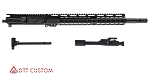 "DTT Customs ""Onyx"" AR-15 Featuring Aero Precision Upper Receiver 16"" .458 SOCOM 1-14T 4150 CMV Heavy Barrel 13.5"" KeyMod Handguard (Assembled or Unassembled)"