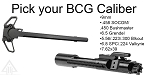 Delta Deals AR-15  Ambidextrous Charging Handle + Pick Your BCG