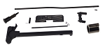 Premium Upper Build Parts Kit - Black Chrome Gas Block, Nitride Gas Tube, Ambidextrous Safety Selector