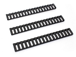 Genuine MAGPUL Ladder Quad Rail Covers BLACK 3 PACK