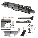 "Davidson Defense ""Roaring Rabbit"" AR-15 Pistol Upper Receiver 7.5"" 5.56 NATO QPQ Nitride 1-7T Barrel 7"" KeyMod Handguard (Assembled or Unassembled)"