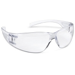 Eye Tech Clear Wraparound Safety Glasses