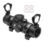 NcSTAR Tactical 4 Reticle Sight DTB4 - Picatinny Style Mount Rings