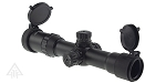 Halcyon Sniper Tactical Rifle Scope 1-4X28 Etched Chevron Glass Reticle