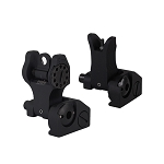 U.S Tactical Ind Operator Series  Flip Up Front & Rear Sight Set  Aluminum (Good Quality)