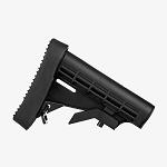 Trinity Force L-E Mil-Spec Stock & Recoil Pad  (BLACK)  (Blowout Priced)