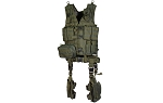 UTG Ultimate Tactical Gear Modular 10 Piece complete Kit - OD Green --