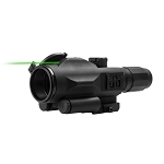 VISM GEN3 SRT 3-9X40 Scope With Integrated Green Laser / P4 Sniper
