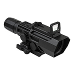 VISM ADO 3-9X42 Scope With Flip Up Red Dot Optic - Black (Featured In Movies)
