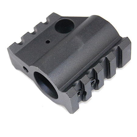 United Defense AR-15 Gas Block with Two Rails - .750 Diameter