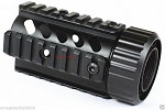 Vector Optics Free Float Pistol Length 4 Inch Handguard Quad Rail