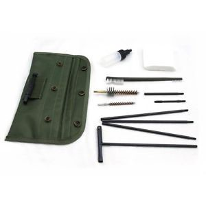 AR-15 Mil-Spec Cleaning Kit–Fits all .223 5.56 Rifles w/ Chamber Brush
