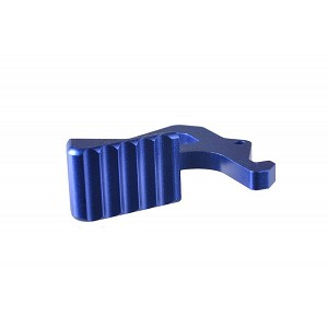 Strike Industries Extended Charging Handle Latch - Blue